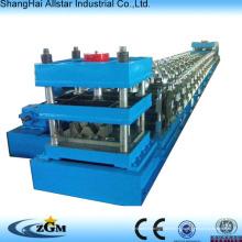 Control del PLC y la estación hidráulica Metal barandilla que hace la máquina, máquina formadora de rollos de barandilla de autopista