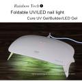 Lampe menée portative de 18w double pour des ongles et un sèche-ongles léger