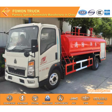 HOWO 4X2 multifunctional water tanker fire truck