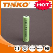 Bateria de NI-MH AAA1000mah CE padrão na fábrica de China