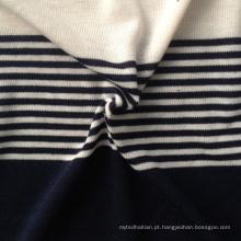 Poly / Rayon / Spandex Blended tecido de confecção de malhas (Qf13-0689)