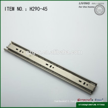 telescopic channel drawer slide ball bearing slide