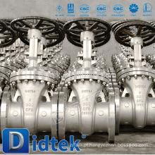 Válvula de flange de 100ml de águas residuais Didtek Waste Water