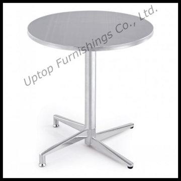 Table ronde pliante en acier inoxydable usée (SP-MT001)