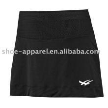 Faldas de tenis de poliéster color sólido spandex precio al por mayor