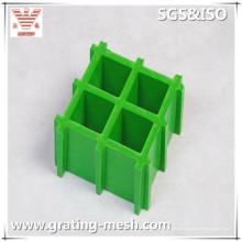 Anti-Rutsch-FRP / GFK-Gitter mit gestrickter Oberfläche für Treppenstufen