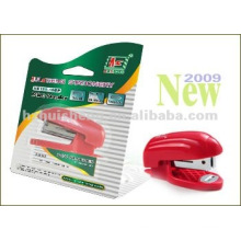 Blister ECO Staple Free Stapler/Mini stapler/plastic stapler with CE HS120-10
