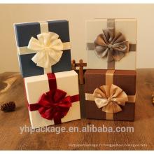 Boîte de beauté de cadeau de papier de prix concurrentiel de qualité