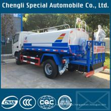 4x2 LHD 5tons caminhão pulverizador de água