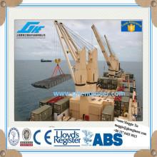 Electric offshore marine crane for bulk cargo ship