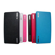 Wallet-designed High-Capacity 20,000mAh Power Bank with Dual USB