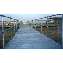 Barra de acero Glavanized para pasamanos