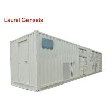 50 / 60Hz Behälter Genset Kraftwerk Diesel 500kVA - 3000kVA