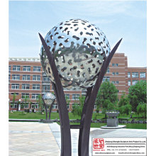 Outdoor Ball Light Sculpture