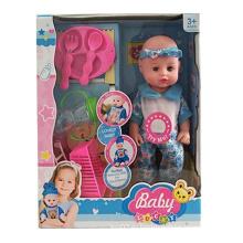 16 дюймов милый прекрасный детские куклы со звуком (10252540)