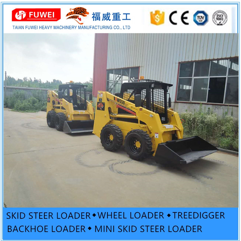 Dingo Mini Skid Steer Loader With Attachment