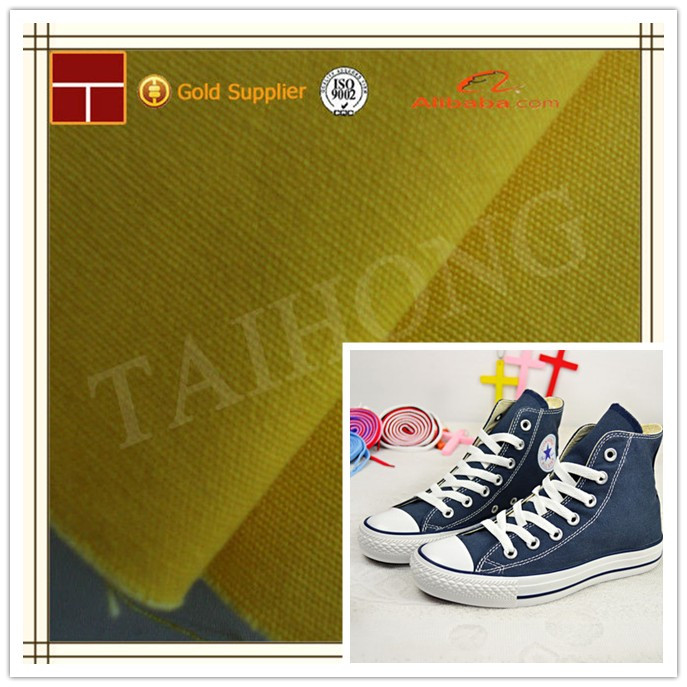 canvas shoes fabric