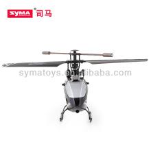 SYMA F4 3,5 cahnnel metal brinquedo helicópteros com giroscópio