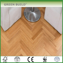 Revêtement de sol en bambou Solid Strand tissé de haute qualité BamboSolid