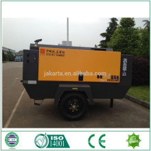 8KG 12 stere Compresor portable del aire del tornillo diesel para la venta compresor de aire móvil