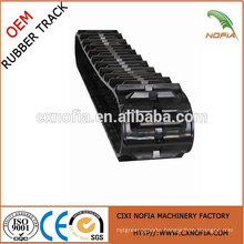 Professional Manufacturer of Rubber Track for Harvester Agricultural Machinery