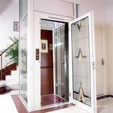 Máquina sin cuarto 320kg Pequeño pasajero barato ascensor de casa
