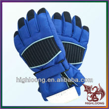Регулируемые перчатки для лыж с воротником из нейлона Bule Nylon Taslon Пзготовителей