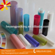 Divers emballages en plastique à tube vide
