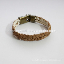 Handmade moda Pulseira de couro como bracelete pulseira pulseira mudança de cor PSL025