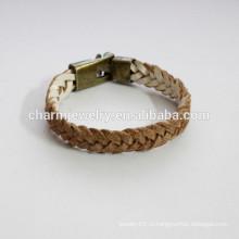 Handmade браслет способа кожаный как браслет изменения цвета браслета оплетки PSL025 bracelet