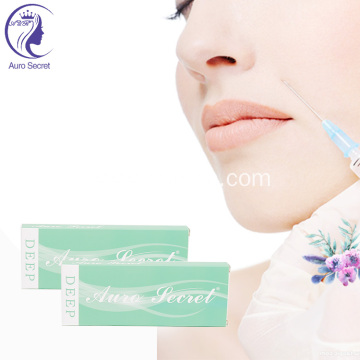 hyaluronic acid dermal filler injector