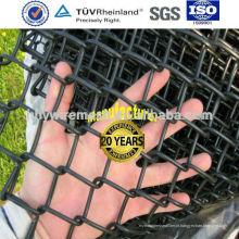 Cerca da ligação chain do pvc revestido Novo preço Cerca da ligação Chain galvanized chain link fence (ISO)