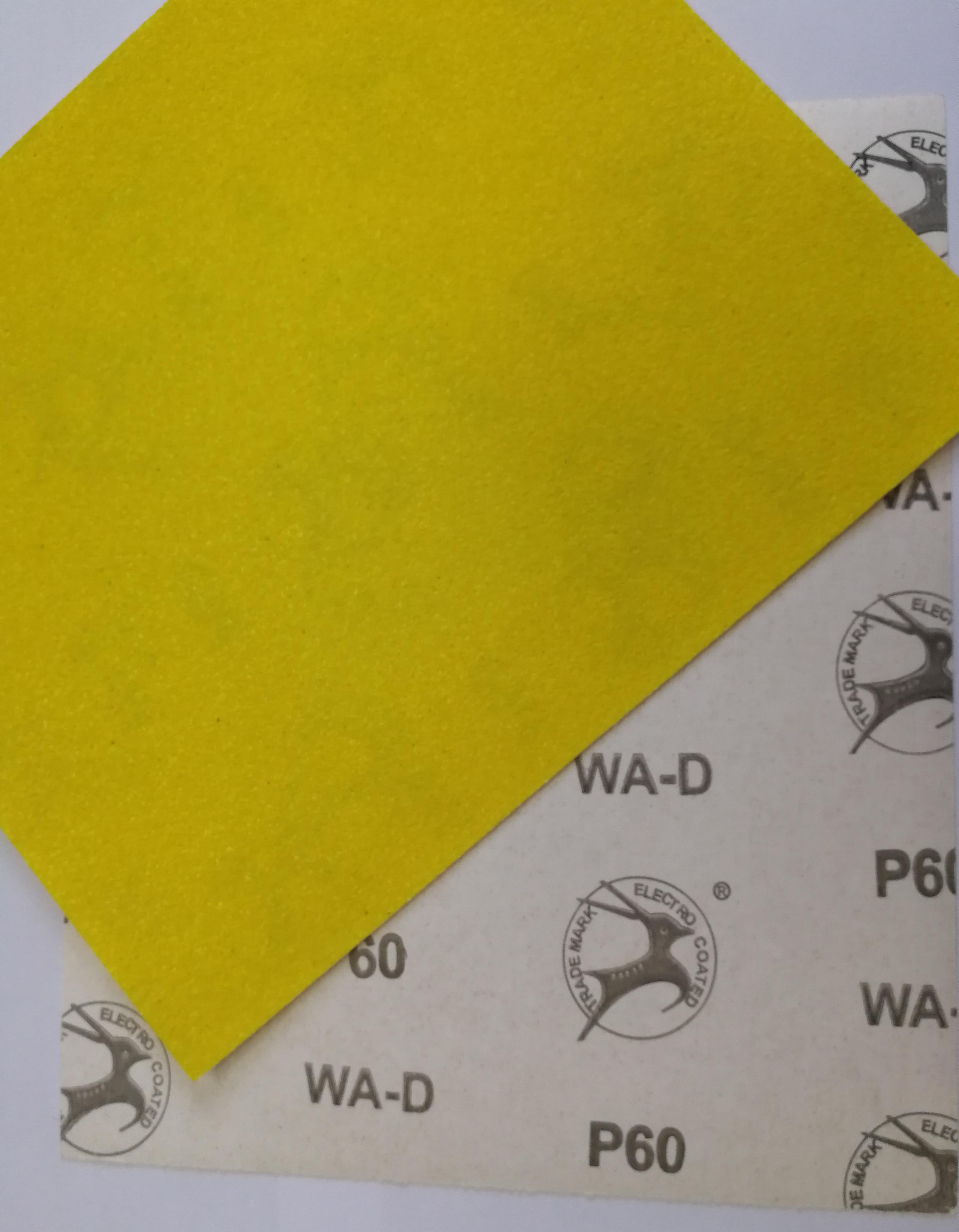 Yellow Latex Abrasive Paper