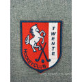 Custom Fashion Logo Flat Woven School Embroidery Patch for Clothing