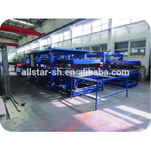 blue color eps sandwich panel machine from shanghai allstar