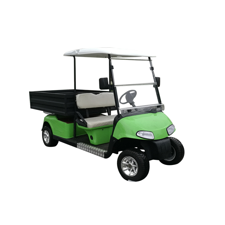 cargo green golf cart