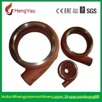 Horizontal Wear Resistant Slurry Pump Volute Liner