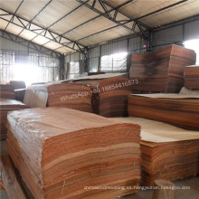 Chapa de fachada de madera contrachapada de corte rotatorio.