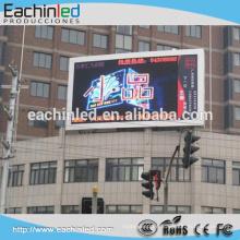 La publicidad al aire libre impermeable grande de la pared del precio P4 P5 P6 P8 P10 de China de la pared llevó la cartelera