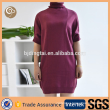 Wholesale elegant kintted cashmere dress for sale