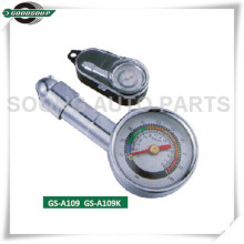 Mini Metal Dial Tire Gauge with special plastic box