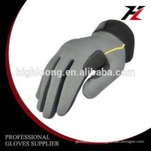 Larga vida de servicio Micro fibra OEM industial trabajo anti vibración guantes
