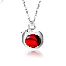 Фабрика Оптовые Ювелирные Изделия 925 Серебряное Ожерелье Кулон