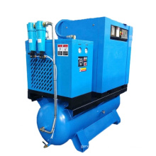 APCOM 15Hp 120Gal Rotary AirCompressors  All In One 500 Litter Dryer Mounted Screw AirCompressor