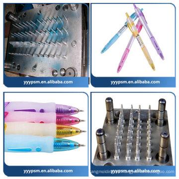El moldeo por inyección plástico más nuevo 2016 para el bolígrafo plástico