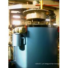 Processo de forno de carburação tipo poço Rq