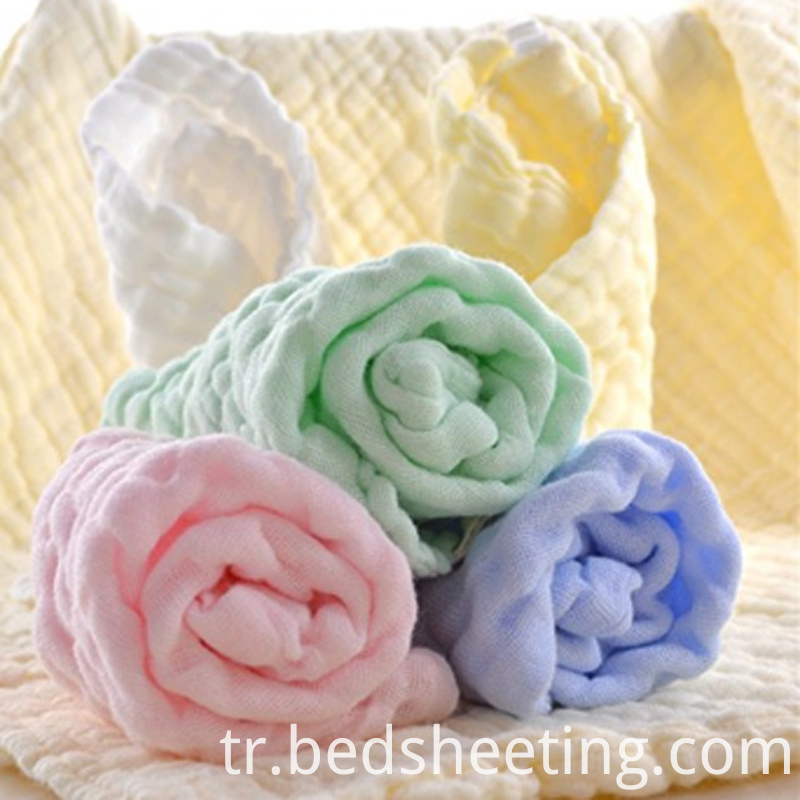 Natural Muslin Cotton Baby Wipes