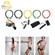 Bodybuilding Training Fitness 11 Piece Resistance Band Set