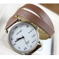 Long Leather Strap Watch