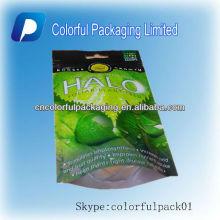 Comida de plástico Fruta seca / bolsas de embalaje de verduras / bolsa de pie